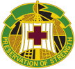 Logo: Blanchfield Army Community Hospital